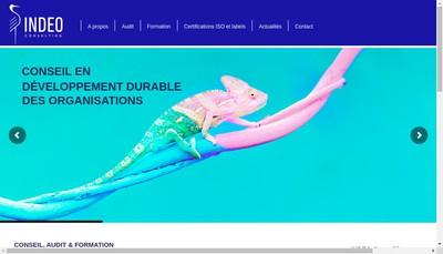 Site internet de Indeo Consulting