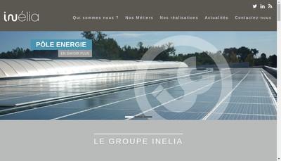 Site internet de Inelia