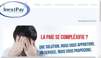 Site internet de Inextpay