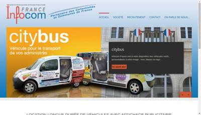 Site internet de Infocom - France
