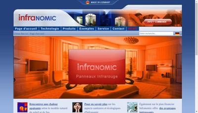 Site internet de Infranomic - France
