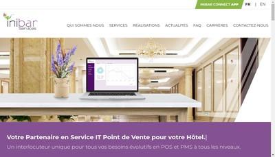 Site internet de Inibar Services