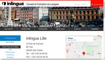 Site internet de Inlingua