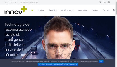 Site internet de Innov Plus