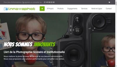 Site internet de Innovaphot
