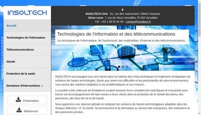 Site internet de Insoltech