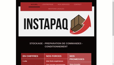 Site internet de Instapaq