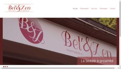 Site internet de Bel et Zen