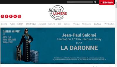 Site internet de Espaces & Lumiere