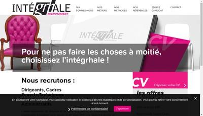 Site internet de Integrhale