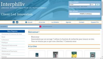Site internet de Interphiliv