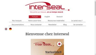 Site internet de Interseal