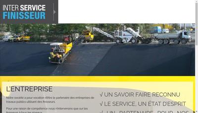 Site internet de Inter Service Finisseur