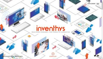 Site internet de Inventhys