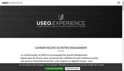 Site internet de Useo