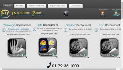 Site internet de Irm Bachaumont