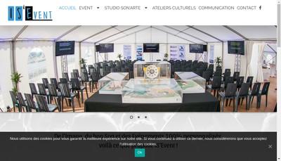 Site internet de Is' Event
