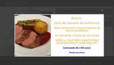 Site internet de Isabelle Traiteur