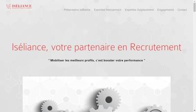 Site internet de Iseliance