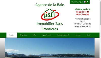 Site internet de Isf