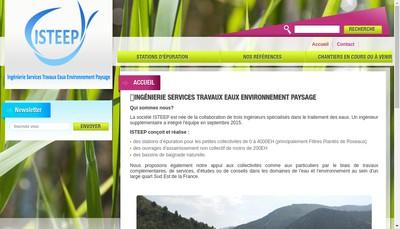 Site internet de Isteep