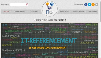 Site internet de It Referencement