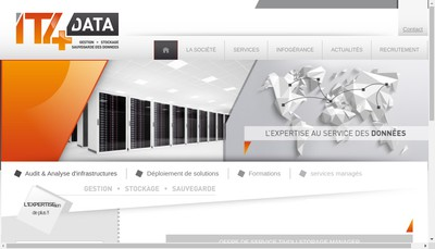 Site internet de It4Data