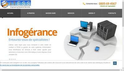 Site internet de Itess