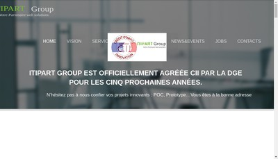 Site internet de Itipart France