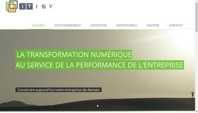 Site internet de Itisy