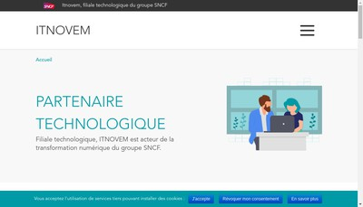 Site internet de Itnovem
