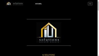 Site internet de Iu Solutions