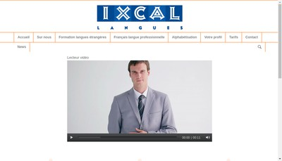 Site internet de Ixcal Langues