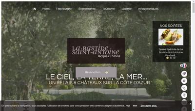 Site internet de SARL Jacques Chibois