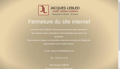 Site internet de Etablissements Jacques Lebled