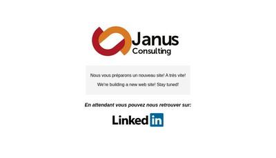 Site internet de Janus Consultants