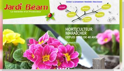 Site internet de SARL Jardi Bearn