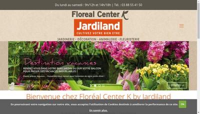 Site internet de Jardiland Geispolsheim