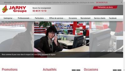 Site internet de Jarny Mvs Services