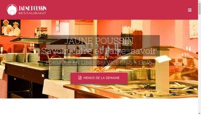 Site internet de Jaune Poussin