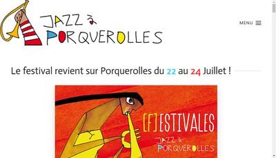 Site internet de Jazz a Porquerolles