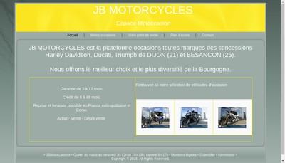 Site internet de Jb Motorcycles