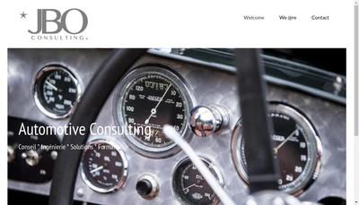 Site internet de Jbo Consulting