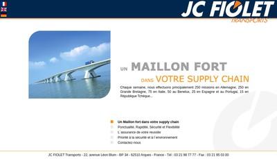 Site internet de Etablissements Jc Fiolet et Fils