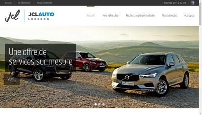 Site internet de Jcl Auto Luberon