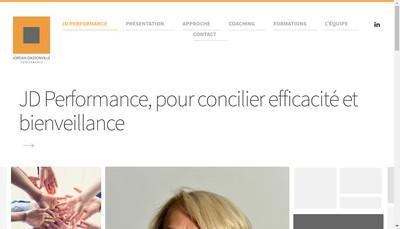 Site internet de Jd Performance