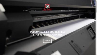 Site internet de Jersey Creations