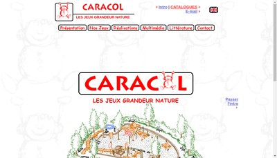 Site internet de Caracol