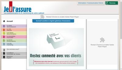 Site internet de Sesame Assurances