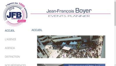 Site internet de Jfb Event